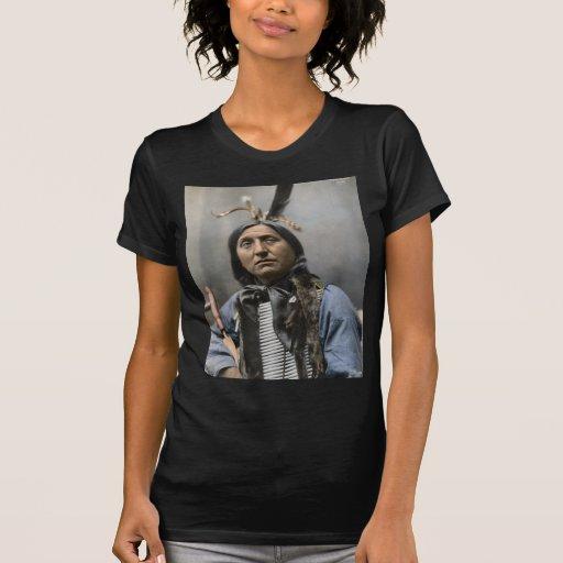 Principal indio del vintage del principal oso de camisetas