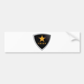 Principal insignia pegatina para auto