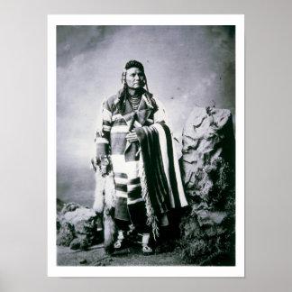 Principal José (1840-1904) c.1880 (foto de b/w) Impresiones