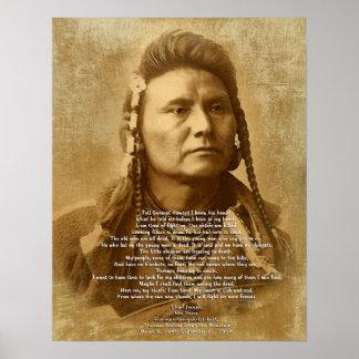 Principal José del Nez Perce Poster