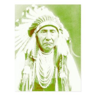 Principal líder del nativo americano de José Tarjetas Postales