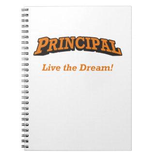 Principal - live the dream! note book