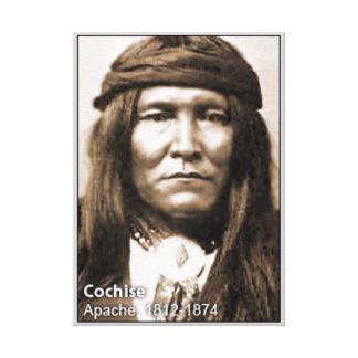 Principal lona envuelta Cochise Impresiones En Lona