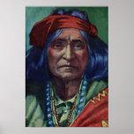 Principal nación de Navajo de Thunderbird Poster
