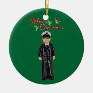 Principal ornamento del navidad de la marina de ornaments para arbol de navidad