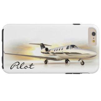 Principal piloto iP6Plus de Cessna Funda De iPhone 6 Plus Tough