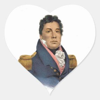 Principal Pushmataha Pegatina En Forma De Corazón