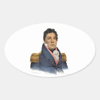 Principal Pushmataha Pegatina Ovalada