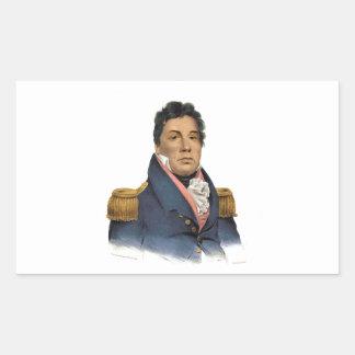 Principal Pushmataha Pegatina Rectangular