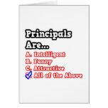 Principal Quiz...Joke Cards
