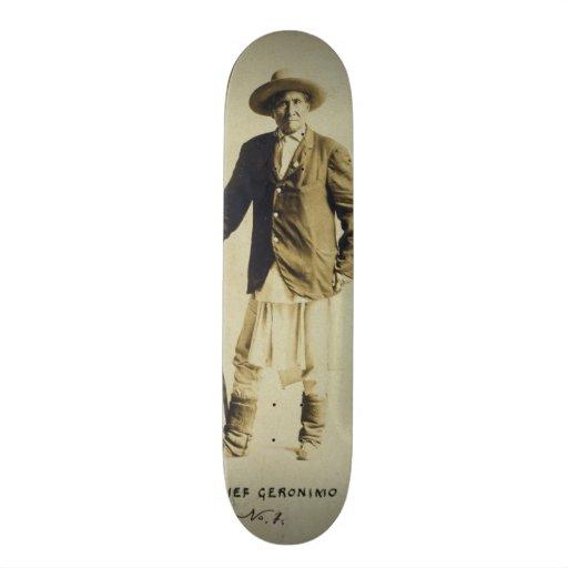 """Principal retrato derecho 1904 de Geronimo Patineta 7 3/4"""""""