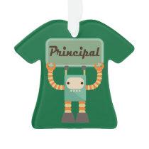 Principal Retro Robot Holiday Ornament