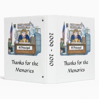 Principal s Memory Book 3 Ring Binders