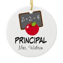 Principal School Ornament Personalized Gift