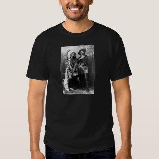 Principal sentada Bull y Buffalo Bill 1895 Polera