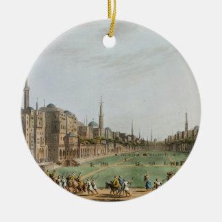 Principal Square in Grand Cairo, with Murad Bey's Ceramic Ornament