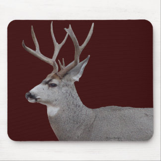 Principal y hombros del dólar del ciervo mula D002 Mousepad