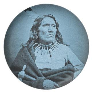 Principal Yankton Dakota territorio de Ponca ciáni Plato De Cena