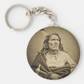 Principal Yankton Dakota territorio de Ponca circa Llavero Redondo Tipo Pin