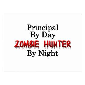 Principal/Zombie Hunter Postcard