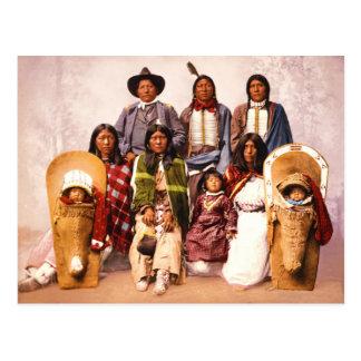 Principales Severo y familia (gente del Ute) Postales