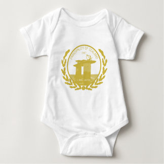 principality of sealand seal crest baby bodysuit