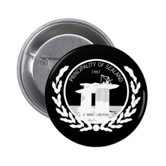 principality of sealand seal crest button