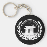 principality of sealand seal crest key chains