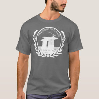 principality of sealand seal crest T-Shirt