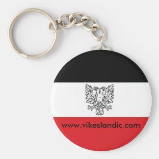Principality of Vikesland patriot items Basic Round Button Keychain