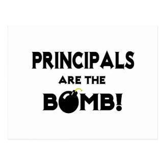 Principals Are The Bomb! Postcard