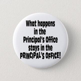 Principal's Office Pinback Button
