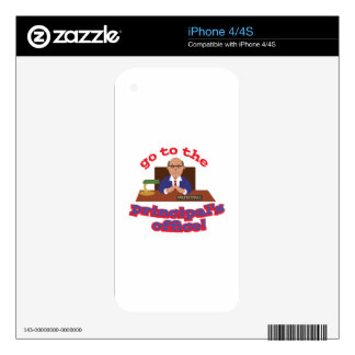 Principals Office! Decals For The iPhone 4