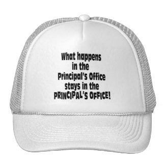 Principal's Office Trucker Hat