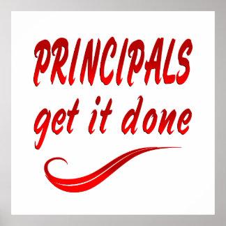 Principals Poster