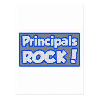 Principals Rock! Postcard