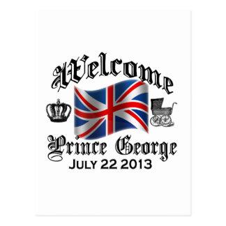 Príncipe agradable George el 22 de julio Postal