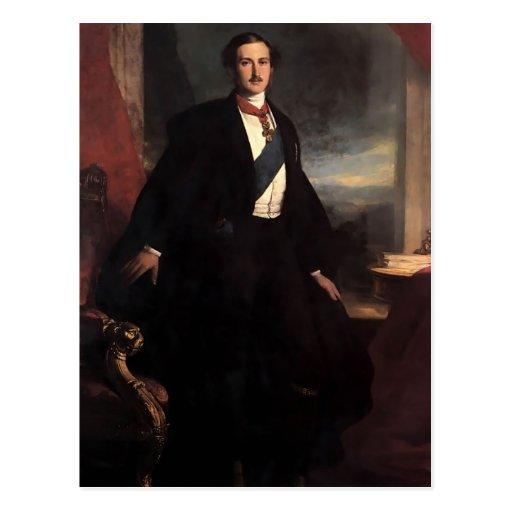 Príncipe Alberto de Francisco Xaver Winterhalter Postal
