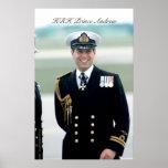 Príncipe Andrew de HRH Póster
