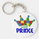 Príncipe autístico 1 AUTISMO Llaveros Personalizados