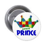 Príncipe autístico 1 AUTISMO Pin