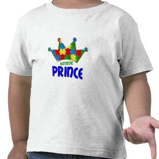 Príncipe autístico 1 AUTISMO Camisetas