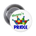 Príncipe autístico 3 AUTISMO Pins