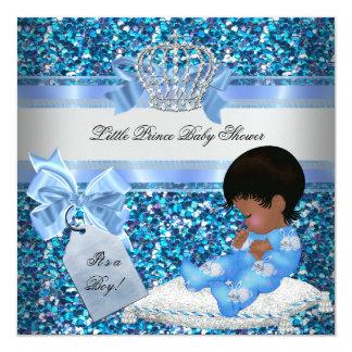 Príncipe azul Bunnies del muchacho de la fiesta de Invitación 13,3 Cm X 13,3cm