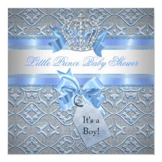 Príncipe azul Crown del muchacho de la fiesta de