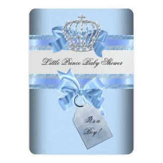 Príncipe azul Crown del muchacho de la fiesta de Invitación 12,7 X 17,8 Cm