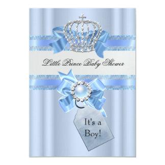 """Príncipe azul Crown NEW del muchacho de la fiesta Invitación 5"""" X 7"""""""