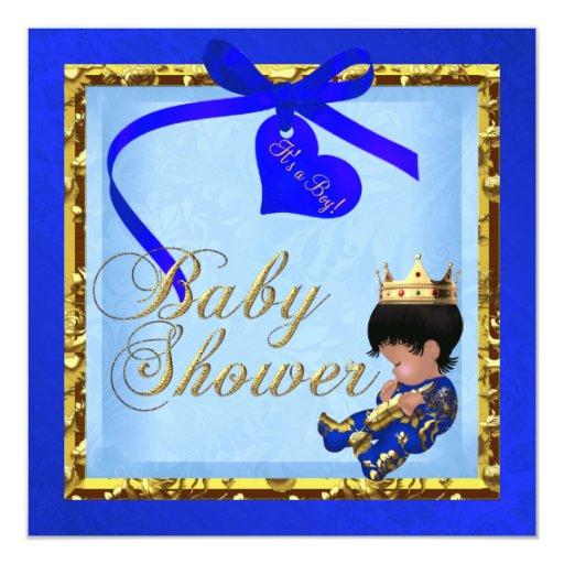 Príncipe azul del muchacho del oro de la fiesta de comunicado