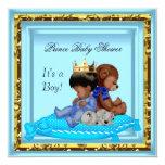 Príncipe azul del muchacho del oro de la fiesta de comunicados personales