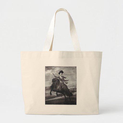Príncipe Balthasar a caballo por Velazque Bolsa De Mano